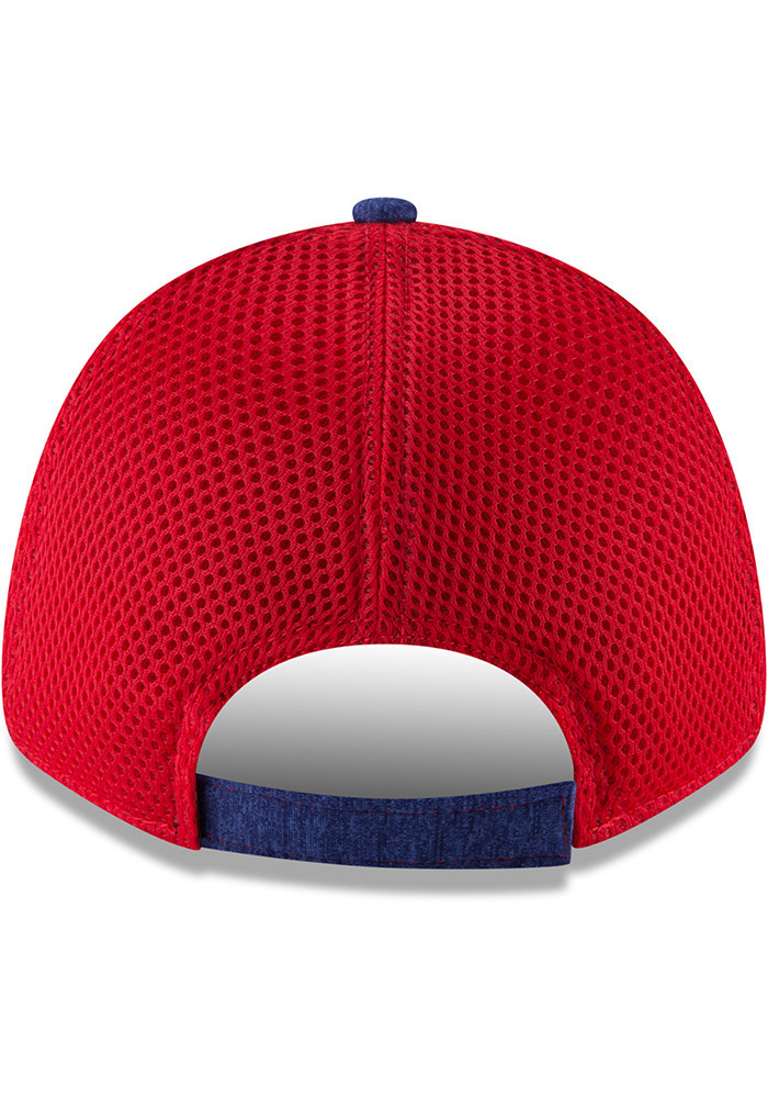 New Era Texas Rangers Blue Shadow Turn 2 Jr 9FORTY Youth Adjustable Hat - Image 2