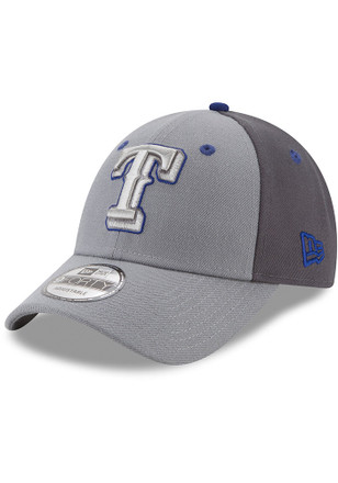 7e0ff422cf8 New Era Texas Rangers Grey The League Gray Pop Jr 9FORTY Youth Adjustable  Hat