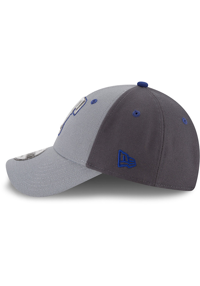 New Era Texas Rangers Grey The League Gray Pop Jr 9FORTY Youth Adjustable Hat - Image 4