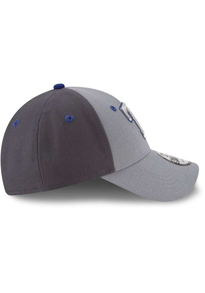 New Era Texas Rangers Grey The League Gray Pop Jr 9FORTY Youth Adjustable Hat - Image 6