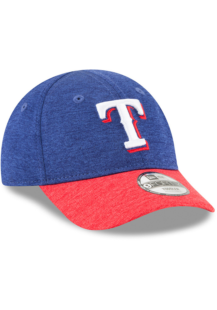 New Era Texas Rangers Baby Shadowed Tot 9FORTY Adjustable Hat - Blue - Image 2