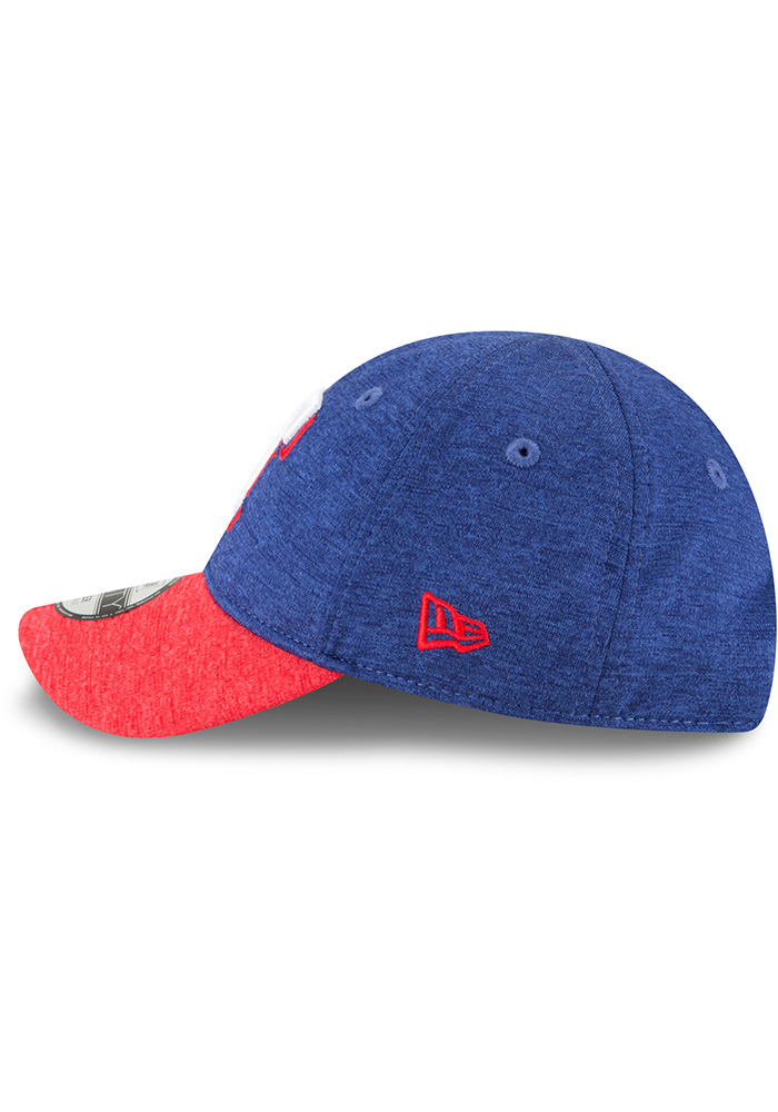 New Era Texas Rangers Baby Shadowed Tot 9FORTY Adjustable Hat - Blue - Image 4