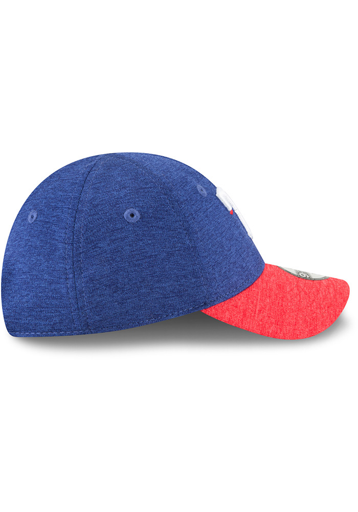 New Era Texas Rangers Baby Shadowed Tot 9FORTY Adjustable Hat - Blue - Image 5