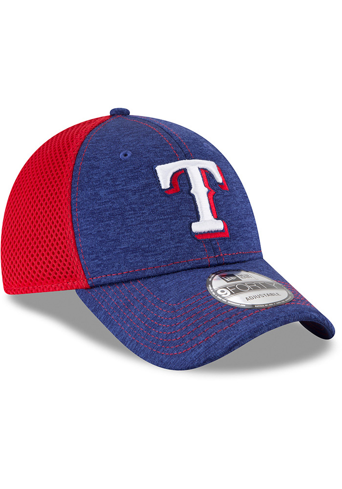 New Era Texas Rangers Shadow Turn 2 9FORTY Adjustable Hat - Blue - Image 2