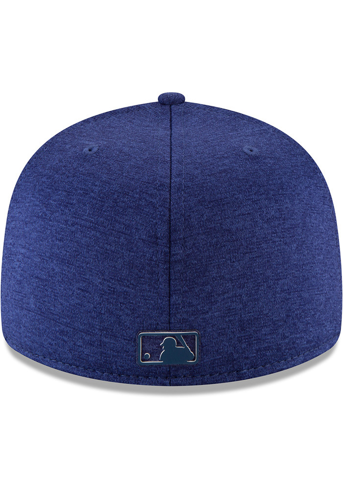 New Era Texas Rangers Mens Blue 2018 Clubhouse 59FIFTY Fitted Hat - Image 5