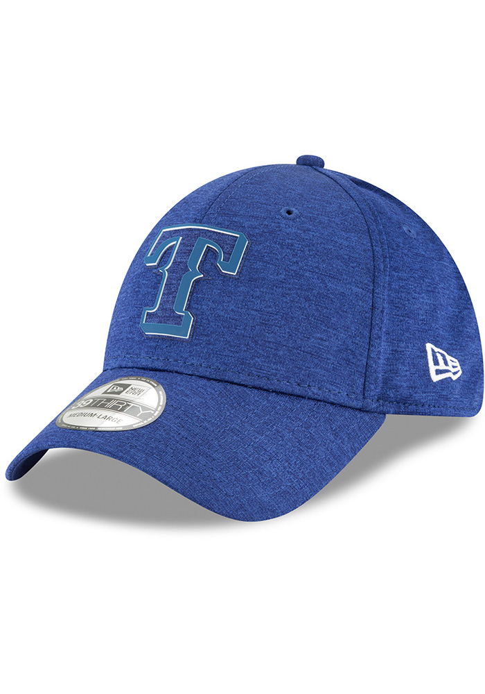 New Era Texas Rangers Blue 2018 Clubhouse Jr 39THIRTY Youth Flex Hat - Image 1