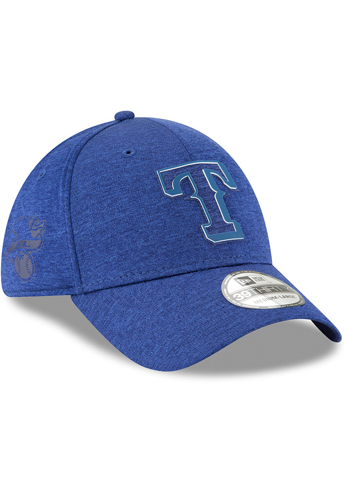 New Era Texas Rangers Blue 2018 Clubhouse Jr 39THIRTY Youth Flex Hat - Image 2