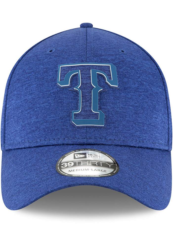 New Era Texas Rangers Blue 2018 Clubhouse Jr 39THIRTY Youth Flex Hat - Image 3