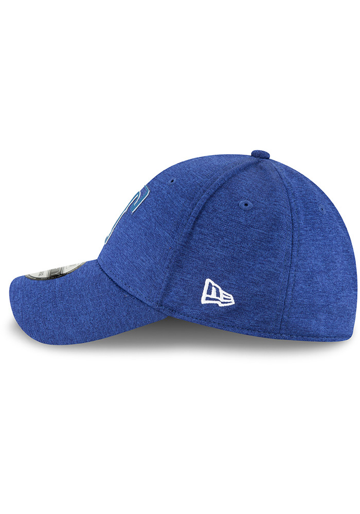 New Era Texas Rangers Blue 2018 Clubhouse Jr 39THIRTY Youth Flex Hat - Image 4