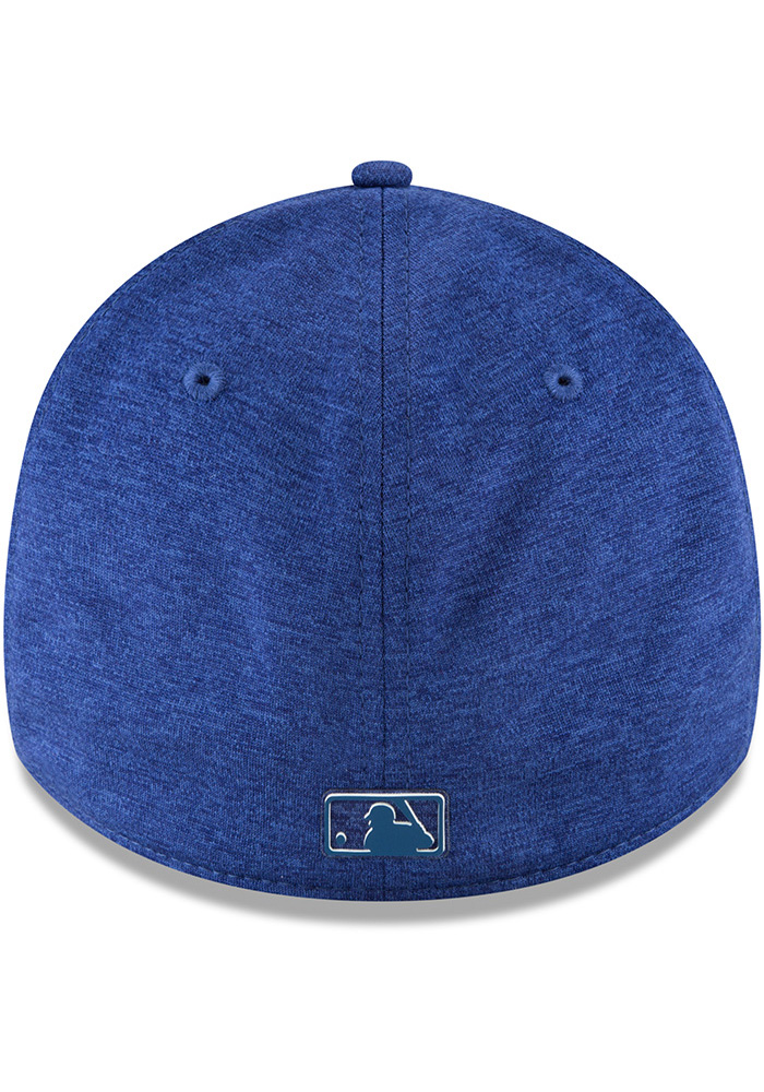 New Era Texas Rangers Blue 2018 Clubhouse Jr 39THIRTY Youth Flex Hat - Image 5