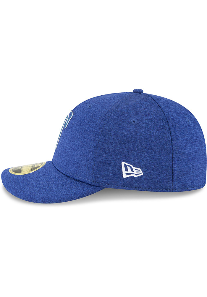 New Era Texas Rangers Mens Blue 2018 Clubhouse LP 59FIFTY Fitted Hat - Image 4