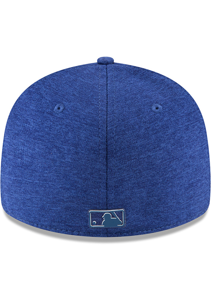 New Era Texas Rangers Mens Blue 2018 Clubhouse LP 59FIFTY Fitted Hat - Image 6
