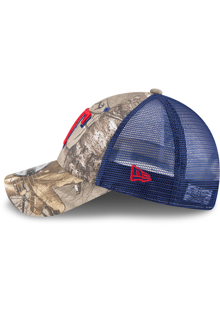 New Era Texas Rangers Realtree Trucker 9FORTY Adjustable Hat - Green - Image 4