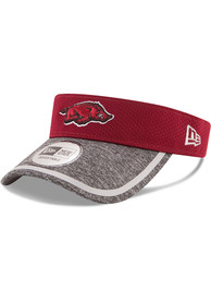 New Era Arkansas Razorbacks Cardinal Tinted Trim Adjustable Visor