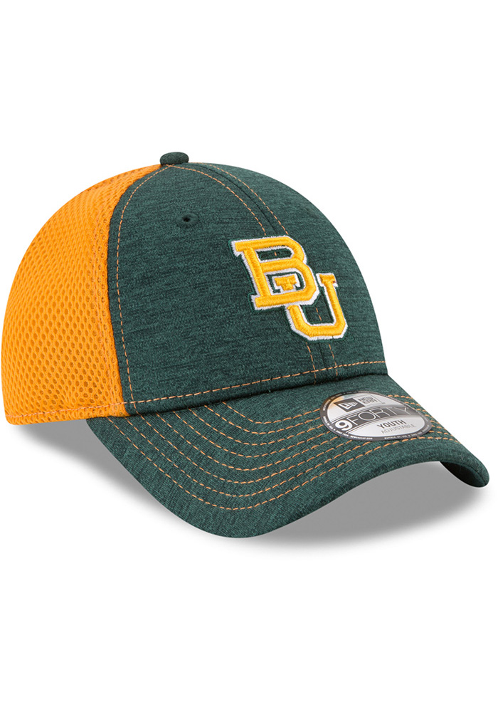 New Era Baylor Bears Green Shadow Turn 2 Jr 9FORTY Youth Adjustable Hat - Image 2