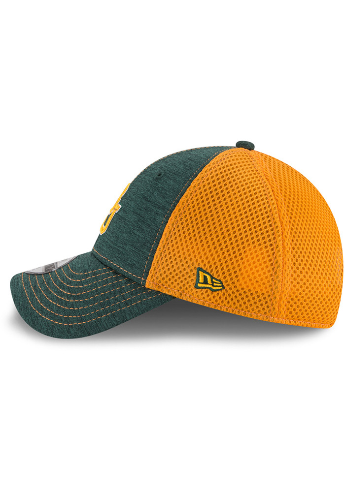 New Era Baylor Bears Green Shadow Turn 2 Jr 9FORTY Youth Adjustable Hat - Image 4