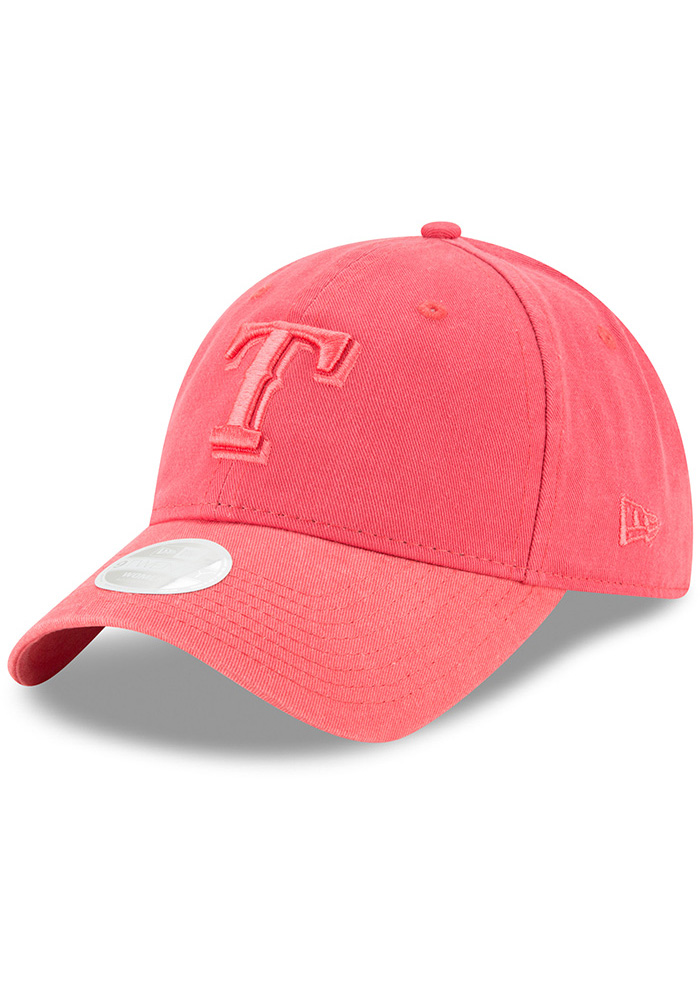 New Era Texas Rangers Orange Core Classic 9TWENTY Womens Adjustable Hat - Image 1
