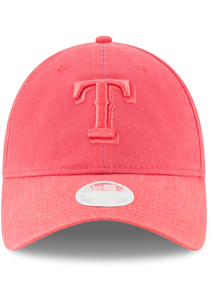 New Era Texas Rangers Orange Core Classic 9TWENTY Womens Adjustable Hat - Image 3