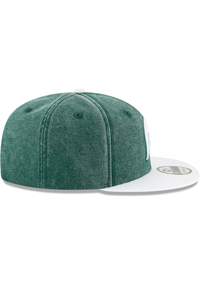 competitive price 75cdf 04f9f ... spain netherlands new era michigan state spartans green rugged canvas  9fifty mens snapback hat 6e29a c4d1a