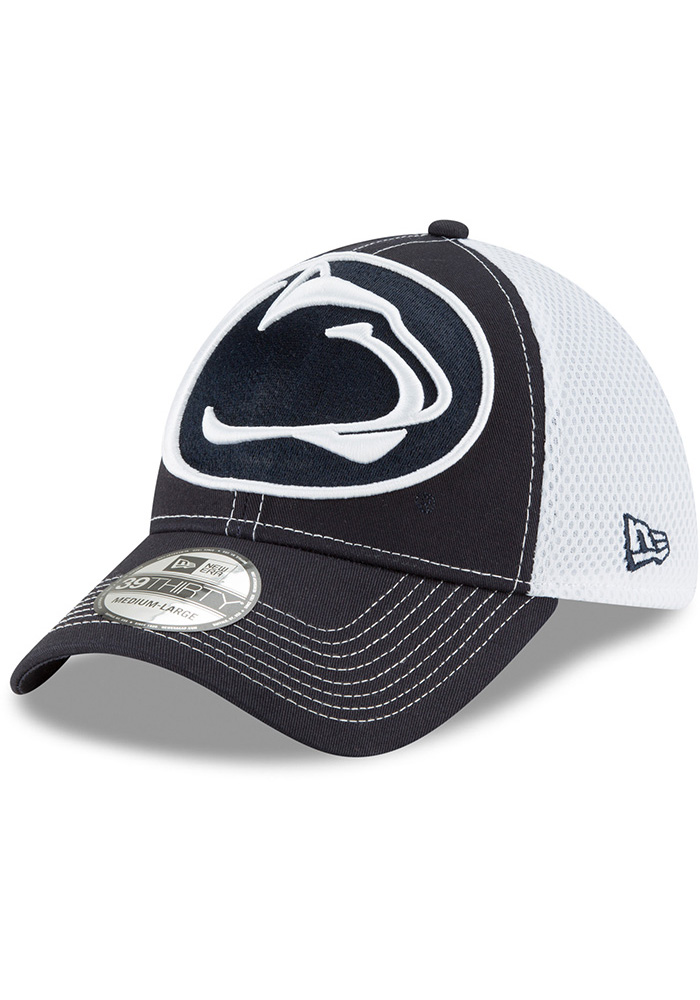 New Era Penn State Nittany Lions Navy Blue Mega Team Neo 2 Jr 39THIRTY Youth Flex Hat - Image 1