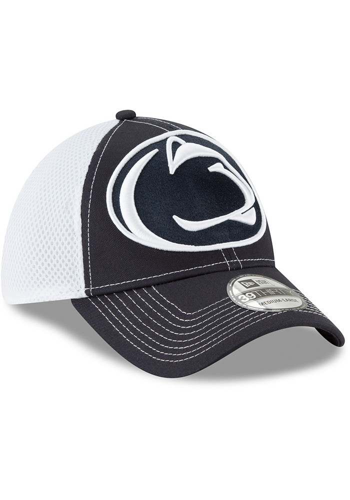 New Era Penn State Nittany Lions Navy Blue Mega Team Neo 2 Jr 39THIRTY Youth Flex Hat - Image 2