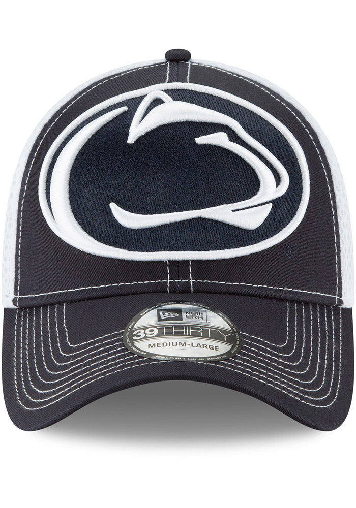 New Era Penn State Nittany Lions Navy Blue Mega Team Neo 2 Jr 39THIRTY Youth Flex Hat - Image 3