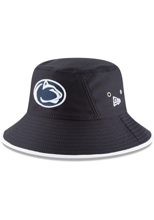 New Era Penn State Nittany Lions Navy Blue Hex Team Bucket Hat 116a5329248c