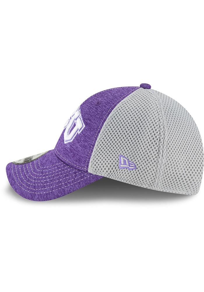 New Era TCU Horned Frogs Shadow Turn 2 9FORTY Adjustable Hat - Purple - Image 4