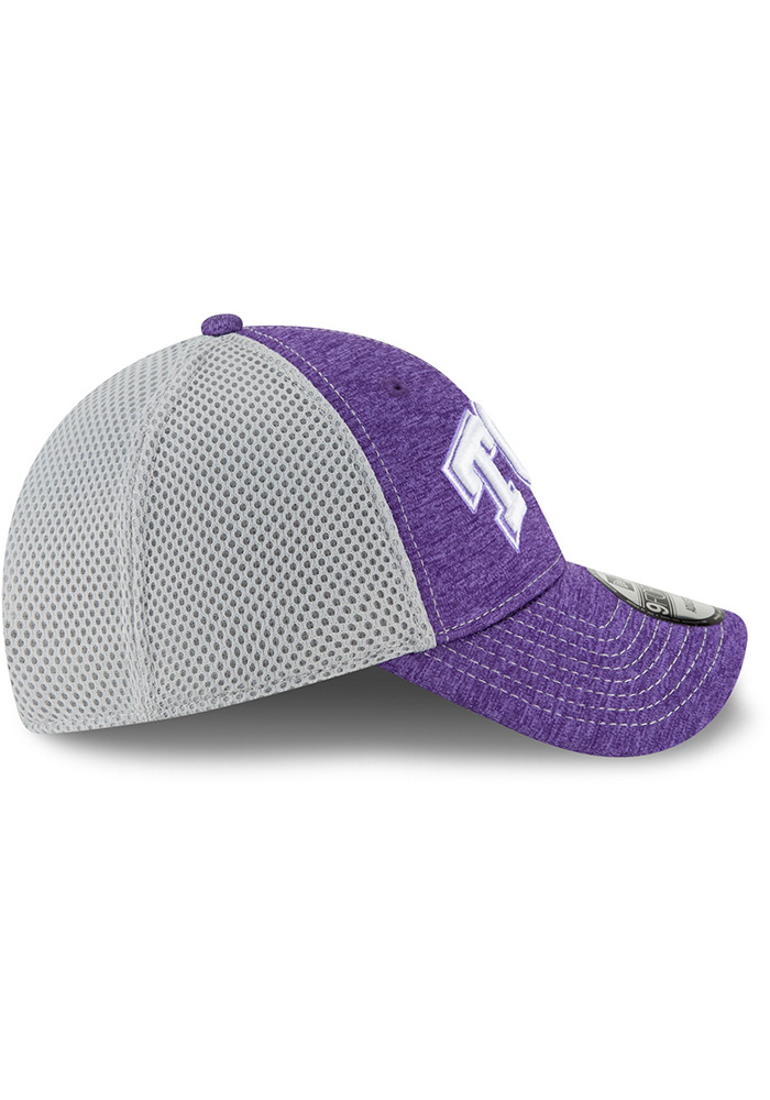 New Era TCU Horned Frogs Shadow Turn 2 9FORTY Adjustable Hat - Purple - Image 6