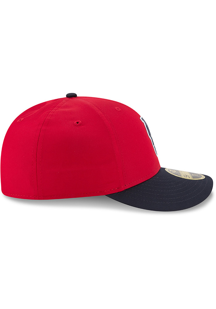 New Era St Louis Cardinals Mens Red ProLight 2018 BP Low Pro 59FIFTY Fitted Hat - Image 6
