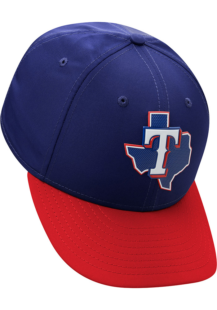 New Era Texas Rangers Mens Navy Blue ProLight 2018 BP Low Pro 59FIFTY Fitted Hat - Image 8
