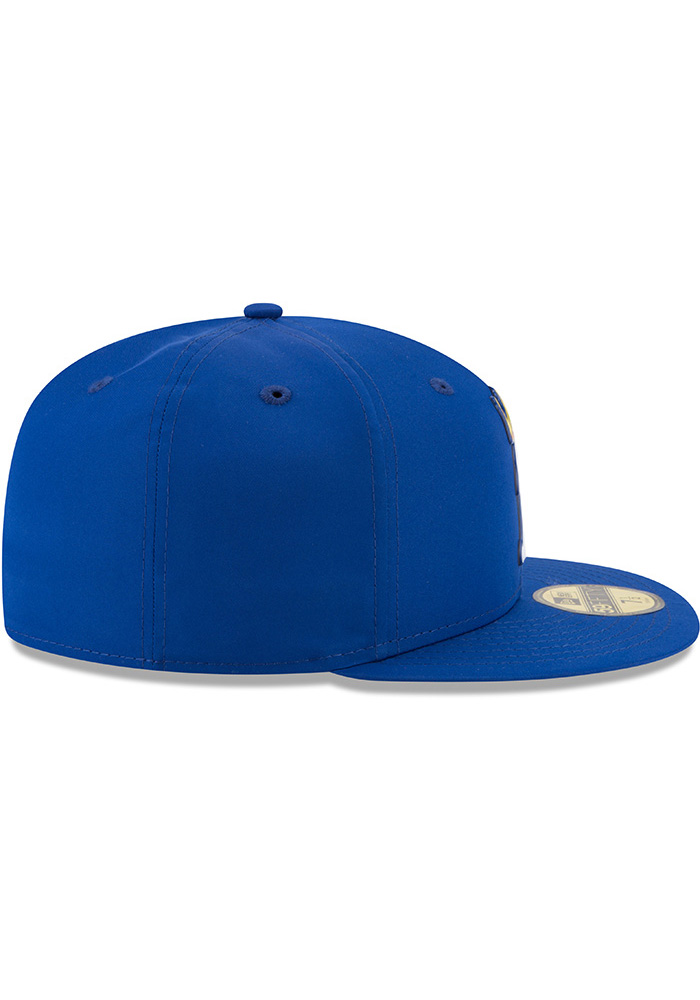 New Era Kansas City Royals Blue ProLight 2018 BP Jr 59FIFTY Youth Fitted Hat  - Image f1fc364d8