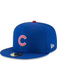Chicago Cubs New Era Blue ProLight 2018 BP 59FIFTY Fitted Hat