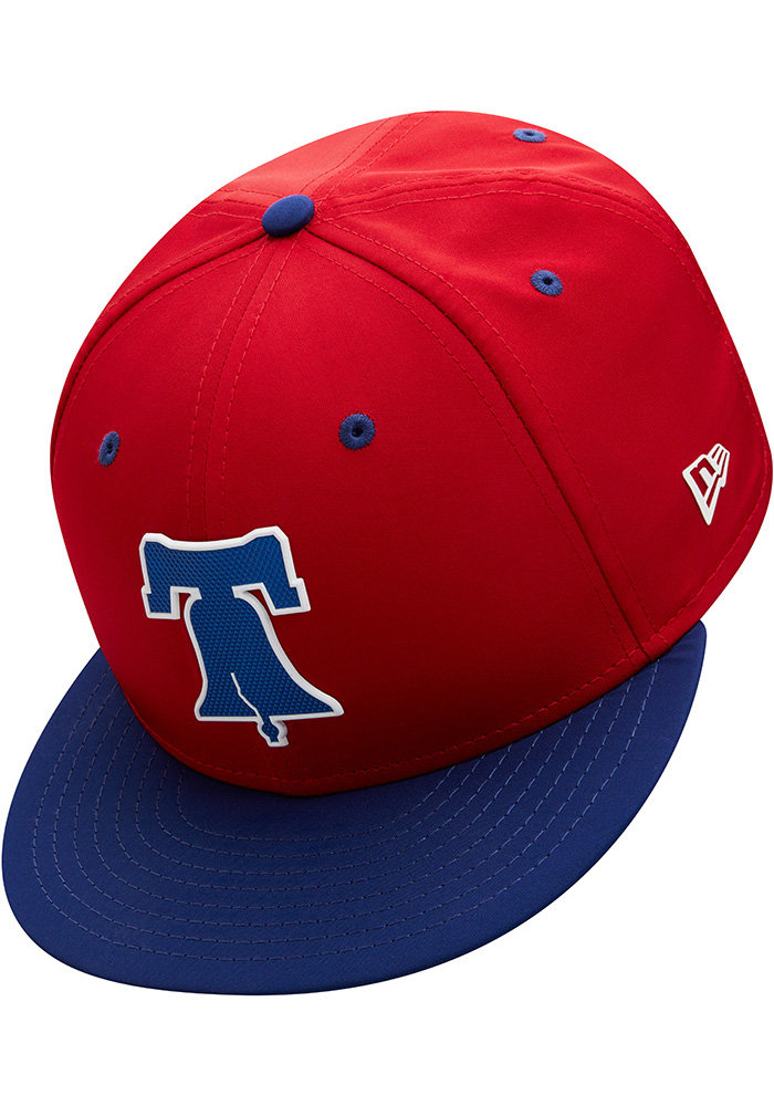 687eeb097d5729 New Era Philadelphia Phillies Mens Red ProLight 2018 BP 59FIFTY Fitted Hat  - Image 7