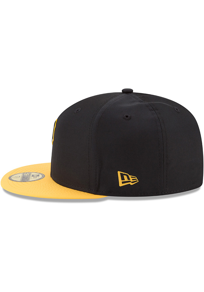 82ce74bf5 New Era Pittsburgh Pirates Mens Black ProLight 2018 BP 59FIFTY Fitted Hat -  Image 4