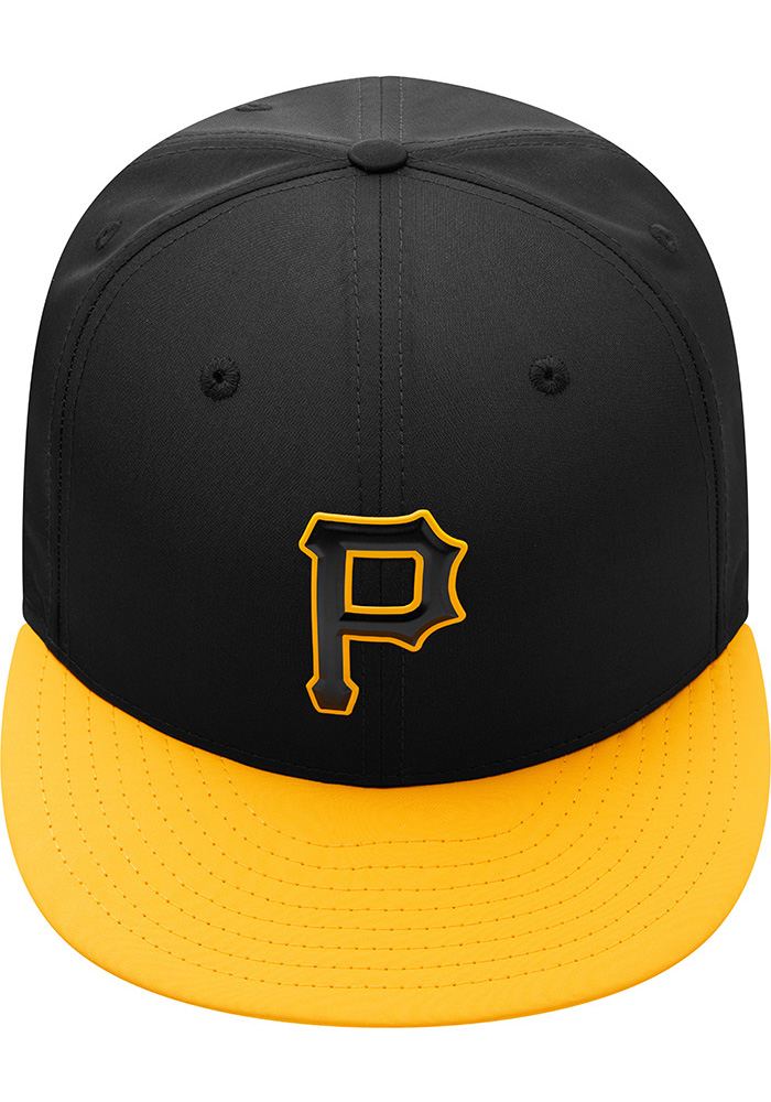 a114554ca5b New Era Pittsburgh Pirates Mens Black ProLight 2018 BP 59FIFTY Fitted Hat -  Image 9