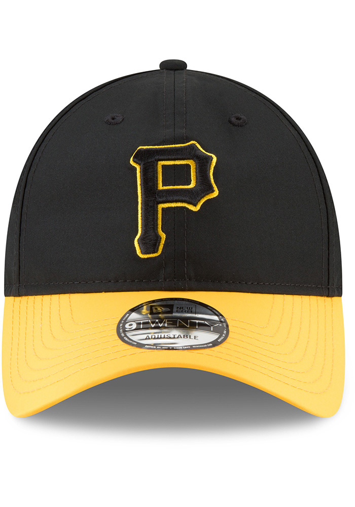 New Era Pittsburgh Pirates Mens Black Spring Training 2018 BP 9TWENTY Adjustable Hat - Image 3