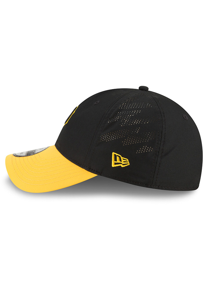 New Era Pittsburgh Pirates Mens Black Spring Training 2018 BP 9TWENTY Adjustable Hat - Image 4