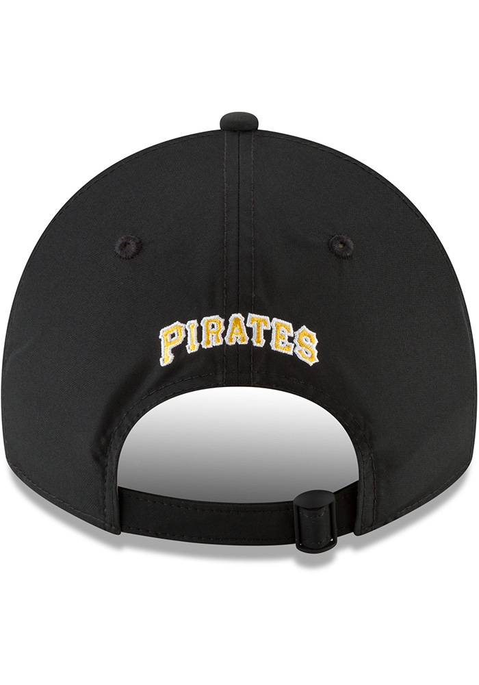 New Era Pittsburgh Pirates Mens Black Spring Training 2018 BP 9TWENTY Adjustable Hat - Image 5