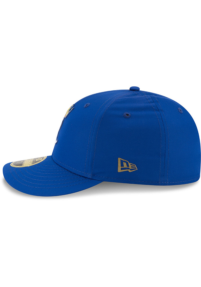 New Era Kansas City Royals Mens Blue Spring Training 2018 BP Low Pro 59FIFTY Fitted Hat - Image 4