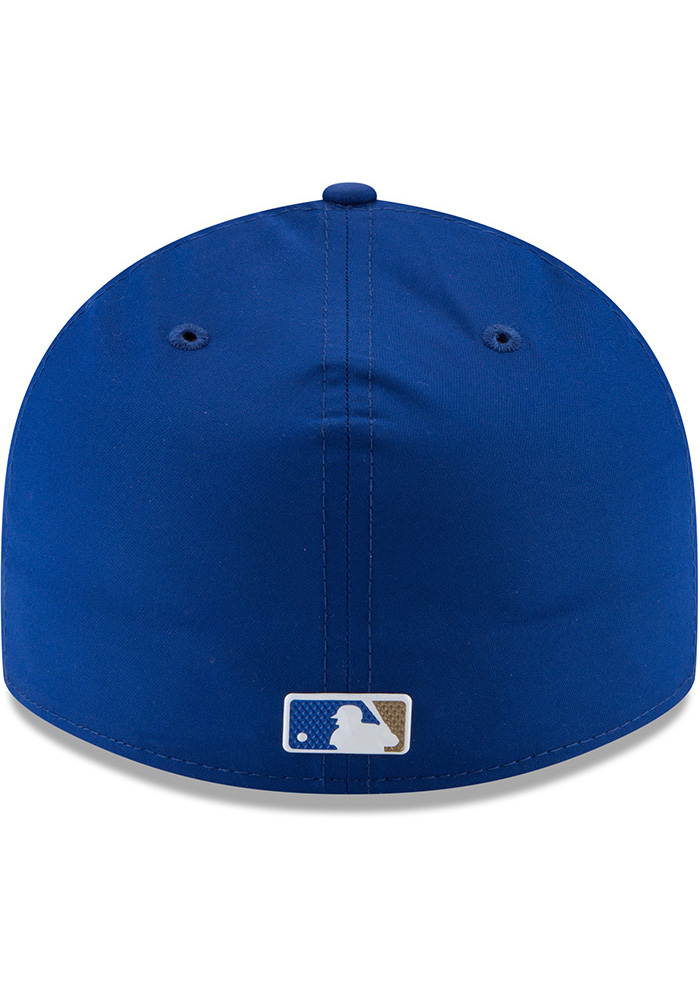 New Era Kansas City Royals Mens Blue Spring Training 2018 BP Low Pro 59FIFTY Fitted Hat - Image 5