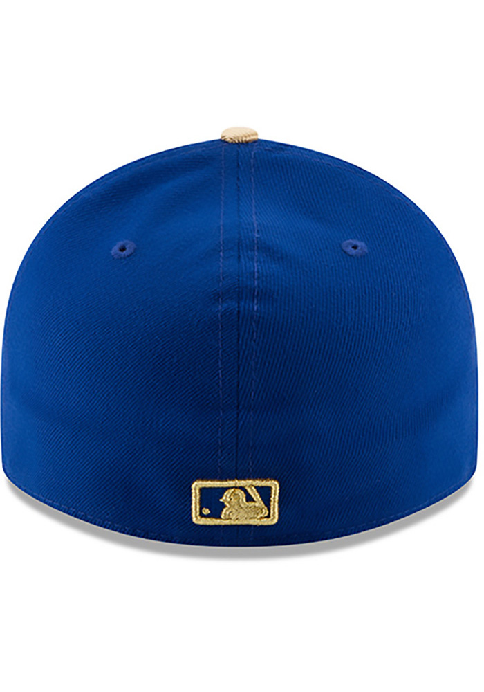 New Era Kansas City Royals Mens Blue 50th Anniversary Alt AC LP59FIFTY Fitted Hat - Image 5