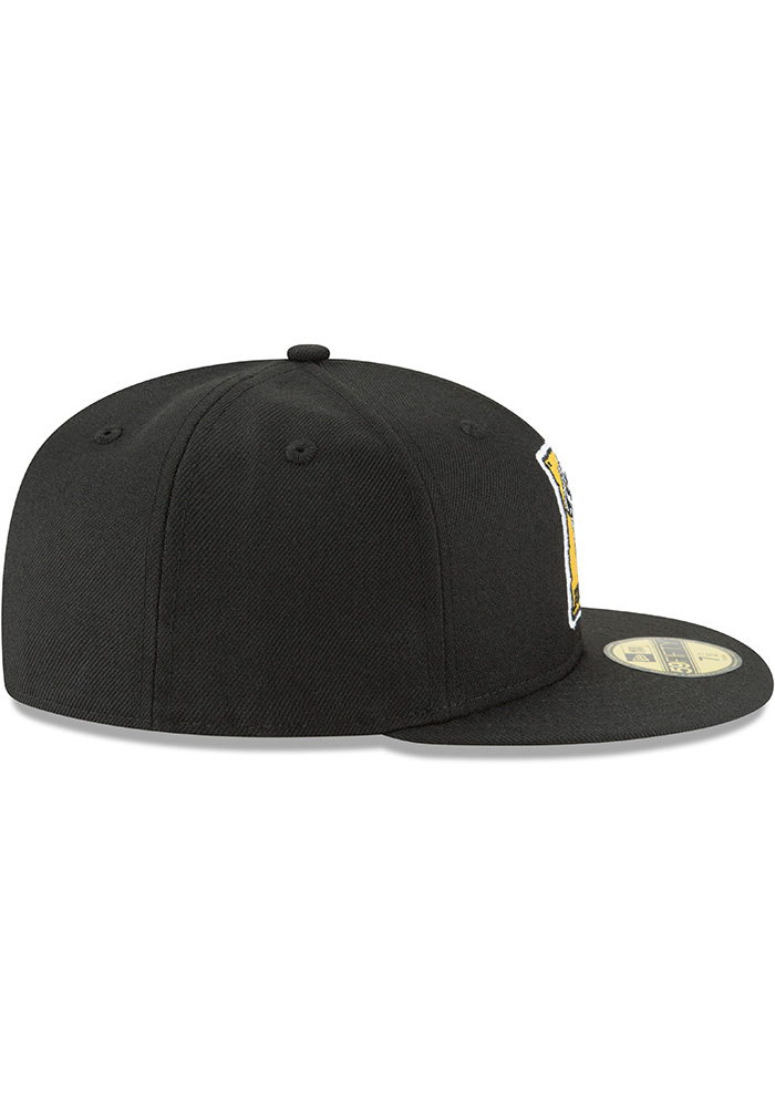 aad4ff78d0a ... order new era pittsburgh pirates mens black 1967 cooperstown wool  59fifty fitted hat image 6 06b58
