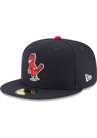 St Louis Cardinals New Era 1950 Cooperstown Wool 59FIFTY Fitted Hat - Blue