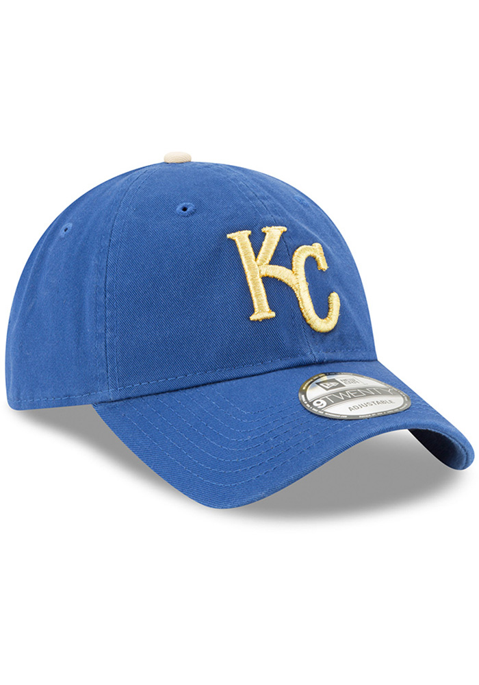 New Era Kansas City Royals Core Classic Replica ALT 9TWENTY Adjustable Hat - Blue - Image 2