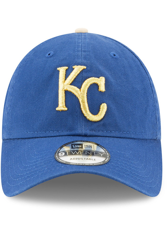 New Era Kansas City Royals Core Classic Replica ALT 9TWENTY Adjustable Hat - Blue - Image 3
