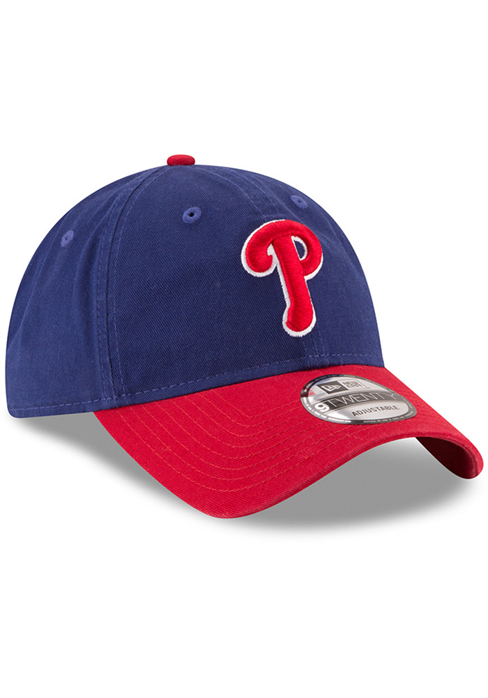 New Era Philadelphia Phillies Core Classic Replica ALT 9TWENTY Adjustable Hat - Blue - Image 2