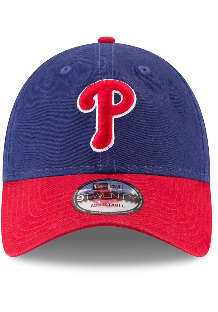 New Era Philadelphia Phillies Core Classic Replica ALT 9TWENTY Adjustable Hat - Blue - Image 3