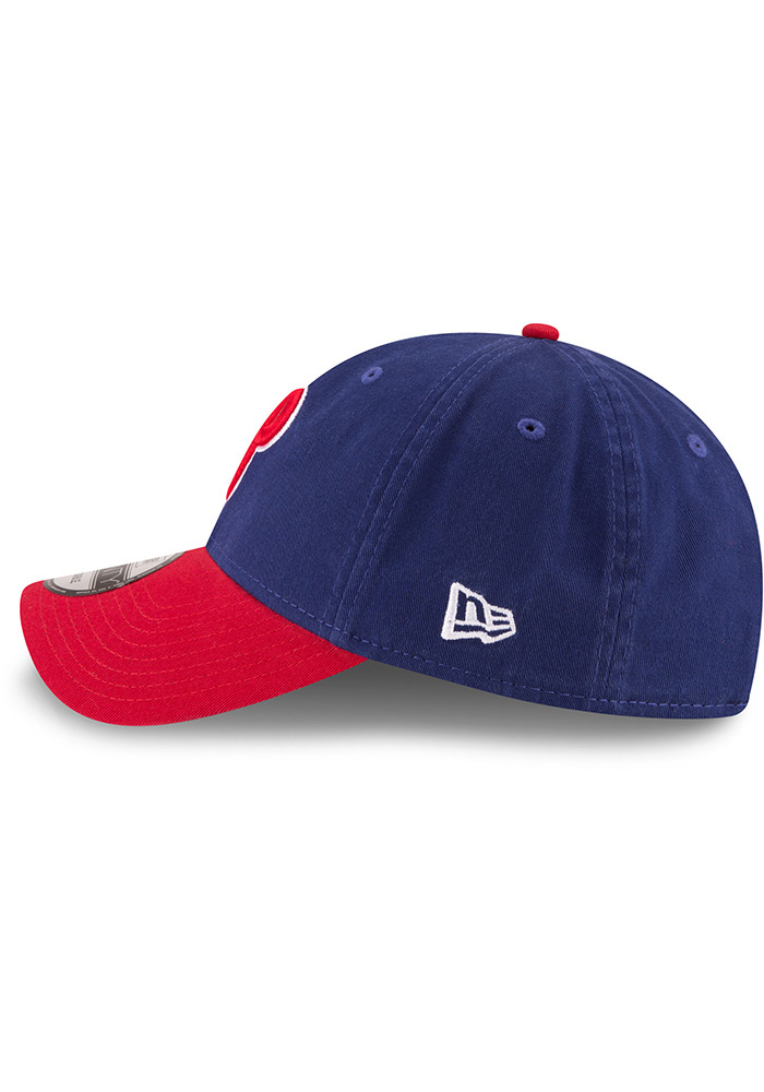 New Era Philadelphia Phillies Core Classic Replica ALT 9TWENTY Adjustable Hat - Blue - Image 4