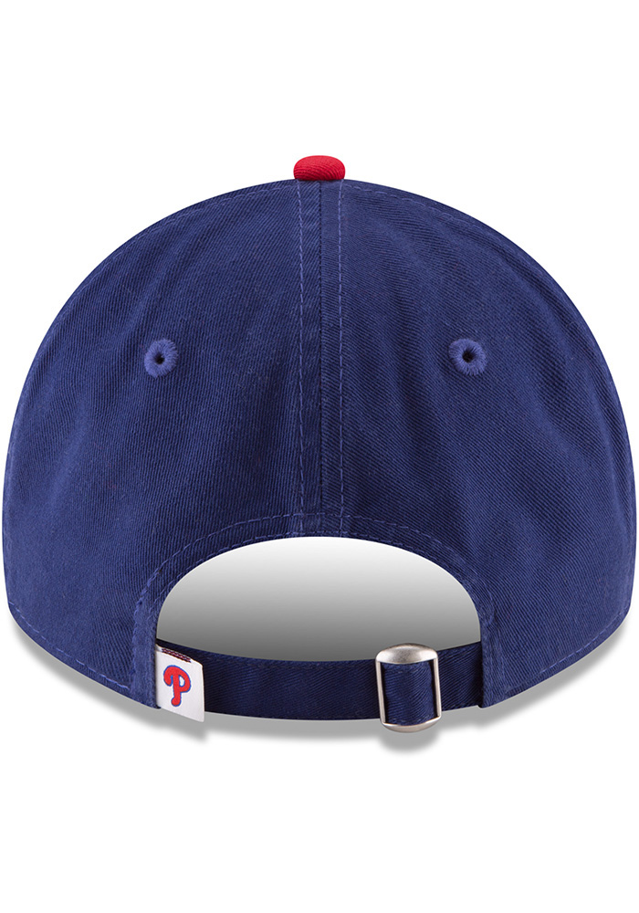 New Era Philadelphia Phillies Core Classic Replica ALT 9TWENTY Adjustable Hat - Blue - Image 5